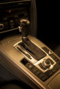 Manual gearbox close view at the Stock Photography