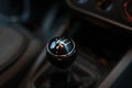 Manual transmission control automobile transmisson set Stock Photography