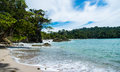 Manuel antonio the pacific ocean in national park costa rica photo taken on sep Royalty Free Stock Photo