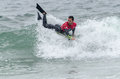 Manuel centeno ovar portugal august at the nd stage of the bodyboard protour on august in ovar portugal Stock Image