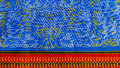 Manufactured African fabric (cotton) Royalty Free Stock Photo