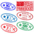 Manufacturing rubber stamps Royalty Free Stock Image