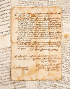 Manuscripts Royalty Free Stock Photo