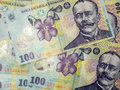 Many Banknotes Of One Hundred ...