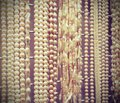 Many beautiful shimmering pearl necklaces for sale