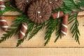 Many chocolate sweets. Royalty Free Stock Photo