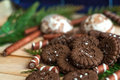 Many chocolate sweets Royalty Free Stock Photo