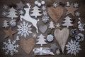 Many Christmas Decoration,Hear...
