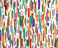 Many color lines Royalty Free Stock Photo