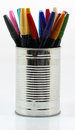 Many color pencils Royalty Free Stock Photo