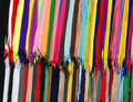 Many-colored laces Royalty Free Stock Photos