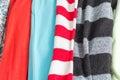 Many Colorful Fabric Cloth Tex...