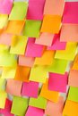 Many colorful stickers Royalty Free Stock Photo