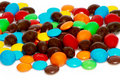 Many colourful candy Royalty Free Stock Images