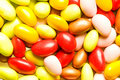 Many colourful jelly beans Stock Image