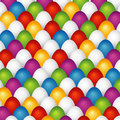 Many Easter eggs, vector Royalty Free Stock Photos