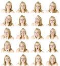 Mnoho tváře z dospívající