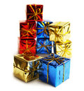 Many gifts Royalty Free Stock Photos
