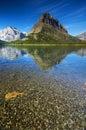 Many Glacier 1 Royalty Free Stock Photo