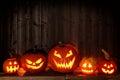 Many Halloween Jack O Lanterns...