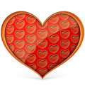 Many hearts within hearts Royalty Free Stock Photos