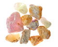 Many minerals Stock Photos