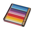 Many pencils in box Royalty Free Stock Photos