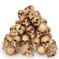 Many skulls Royalty Free Stock Image