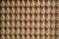 Many small Buddha statue Royalty Free Stock Photo