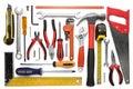 Many Tools isolated on white background Royalty Free Stock Photo