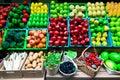 Many type of fruit Royalty Free Stock Photo