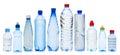 Many water bottles Royalty Free Stock Photo