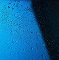 Many water drops Stock Photos