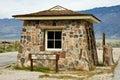 Manzanar sentry post Royalty Free Stock Photo