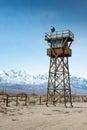 Manzanar Watch Tower Royalty Free Stock Photo