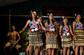 Maori cultural show taipa nz april perform on april the are the indigenous polynesian people of new zealand settled the Stock Images