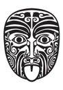 Maori mask.
