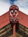Maori wood carving