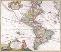 Map antique maps of the world of the world heinrich scherer c Stock Photos
