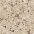 Map antique (seamless vector wallpaper) Royalty Free Stock Photo