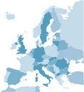 De Europa en azul