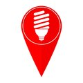 Map pointer bulb