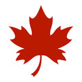 Maple Leaf Vector Icon Royalty Free Stock Photo