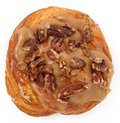 Maple Pecan Doughnut Stock Photography