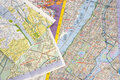 Maps Royalty Free Stock Photo