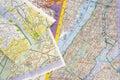 Maps Stock Photos