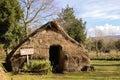 Mapuche hut Royalty Free Stock Photo