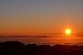 Mar de Nubes Royalty Free Stock Photo