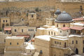 Mar sabas monastery the ancient of in the israeli judean desert is about years old Stock Image