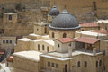 Mar sabas monastery the ancient of in the israeli judean desert is about years old Royalty Free Stock Photography